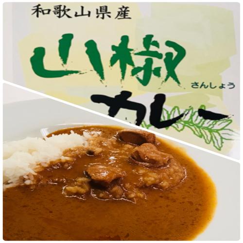 和歌山県産山椒カレー